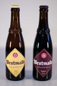 Westmalle Tripel i Dubbel en format 33cl